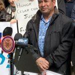"""""""We should have equal rights,"""" said farm worker José Ventura."""