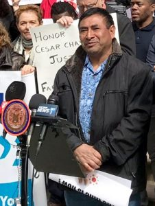 """We should have equal rights,"" said farm worker José Ventura."