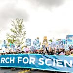 The march was held on Earth Day. Photo: John Shore