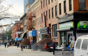 Central Harlem saw a 90 percent increase in the number of businesses.