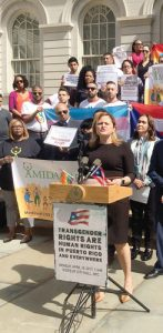 """It's not only immoral and inhumane, it's dangerous,"" said Speaker Melissa Mark-Viverito."
