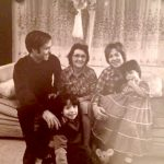 The Viñas family in Washington Heights.