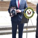 """""""It could be anybody's boy,"""" said Representative Joseph Crowley, holding a photo of Kalief Browder."""