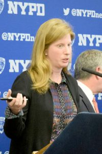 NYPD Assistant Deputy Commissioner Nancy Hoppock.