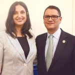 Dr. Cruz with his wife, Dr. Rima Brusi.