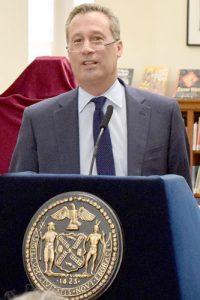 NYPL President Tony Marx.