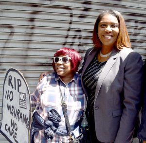 """I say to Paul Ryan, come out and speak to us,"" argued Public Advocate Letitia James."