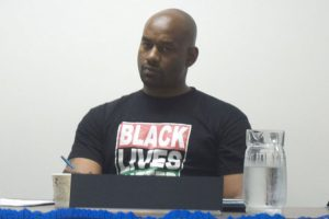 """It is a reality every day,"" said Hawk Newsome, President of Black Lives Matter New York."