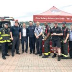 FDNY members shared safety tips.