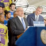 """New York City is shining the light,"" said RWDSU President Stuart Appelbaum."
