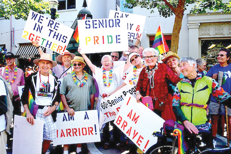 It is estimated that there are 2.7 million LGBT Americans over age 50.