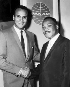 Belafonte with Martin Luther King Jr.