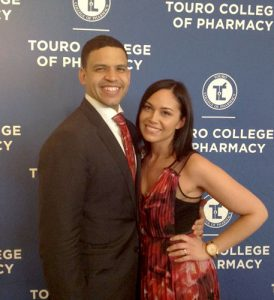 Sybil Goday Peña (right) has earned her PharmD.