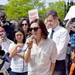"""Millions of people stood up and said 'No,'"" said Paola Mendoza."