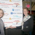 COO Pam Mattel (left) with Board Chair Milagros Báez O'Toole.