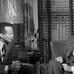 Belafonte with President John F. Kennedy Jr.