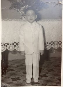 The author as a young boy.