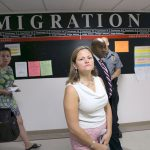 Speaker Melissa Mark-Viverito during a tour of immigration courts in 2014. Photo: William Alatriste | NYC City Council