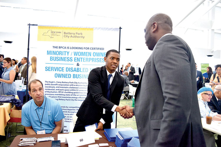 It was the 11th annual citywide procurement fair.