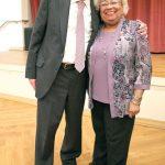 Kator, with District Leader Maria Luna.