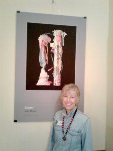 Artist Sue Dean.