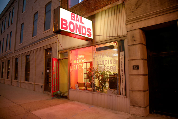 The report focuses on commercial bail bond companies.