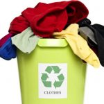 Consider recycling your textiles.