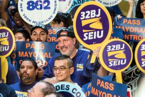 Union members in attendance.
