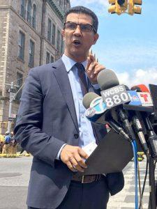 """""""Enough is enough,"""" said Councilmember Ydanis Rodríguez."""