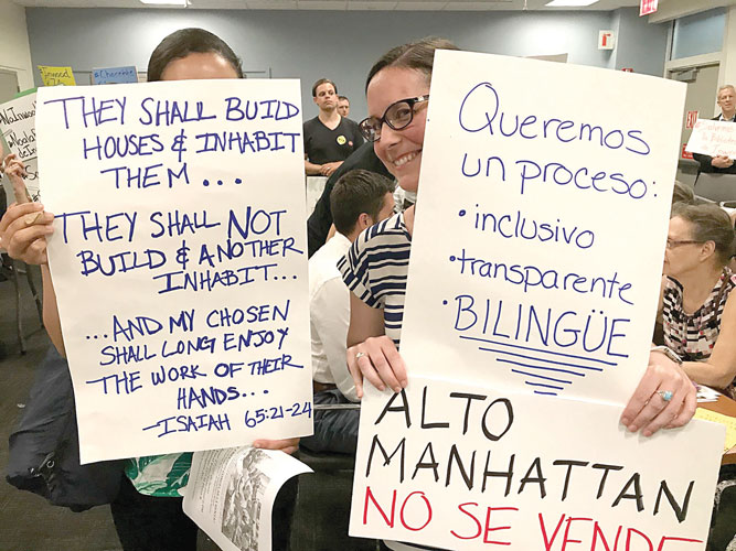 Some have criticized the lack of Spanish language outreach.