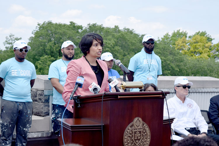 The city's temperature can be 22 degrees higher than surrounding areas, said Jainey Bavishi, Director of the Mayor's Office of Recovery and Resiliency.