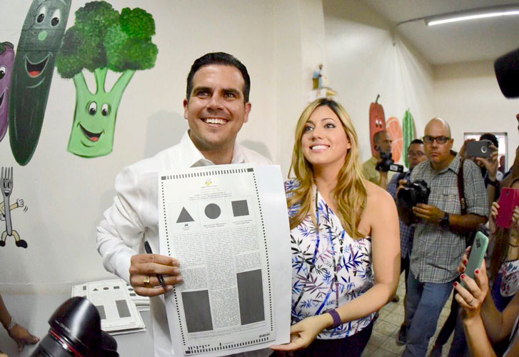 Governor Ricardo Rosselló had supported statehood.