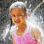 The number of 90-degree days is projected to double.