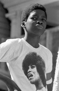 Angela Davis © Stephen Shames, 1972.