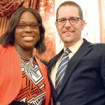 Councilmembers Vanessa Gibson and Mark Levine.