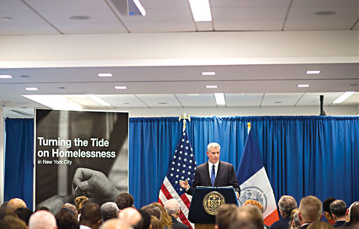 Mayor Bill de Blasio unveiled a new plan in February.
