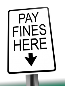 Fines will be levied for violations.