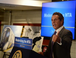 """I am all about getting results,"" said Governor Andrew Cuomo."