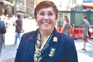 """It's our day,"" said Meridith Maskara, CEO of the Girl Scouts of Greater New York."