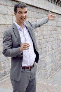 Councilmember Ydanis Rodríguez explains the upgrades.