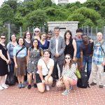 The group toured the Highbridge Park.