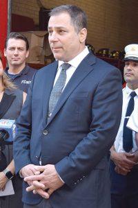 """""""Seconds count,"""" said FDNY Captain and UFOA Secretary George Farinacci."""