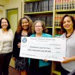 Senator Marisol Alcántara presents new funding allocation for legal non-profit.