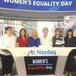 The leaders gathered at NASDAQ.