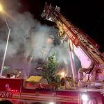 That same day, a two-alarm fire was put out in the Bronx. Photo: FDNY