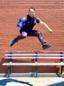 """""""It's been a dream come true,"""" said Sgt. Jordan Castro."""
