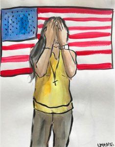 Bandera 2 by Lisette Morales.
