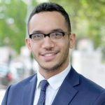 Shaun Abreu, a graduate of the Double Discovery Center Upward Bound program and Columbia University, sought to restore the funding.