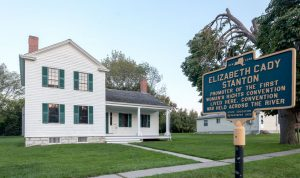 Elizabeth Cady Stanton's house.