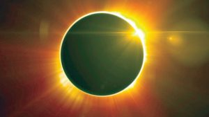 This will be a total eclipse of the sun.